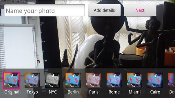 Flickrアプリ