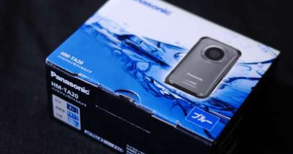 Panasonic ハイビジョンモバイルカメラHM-TA20