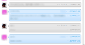 Simples a Skype Chat Style