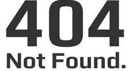 404 Not Found.