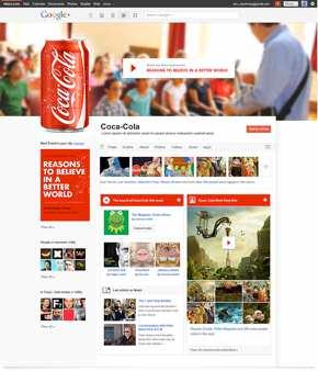 Coca-Colaモックデザイン