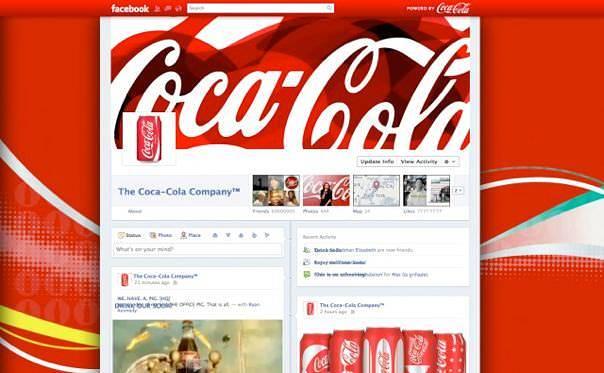 Facebookページタイムラインデザインサンプル