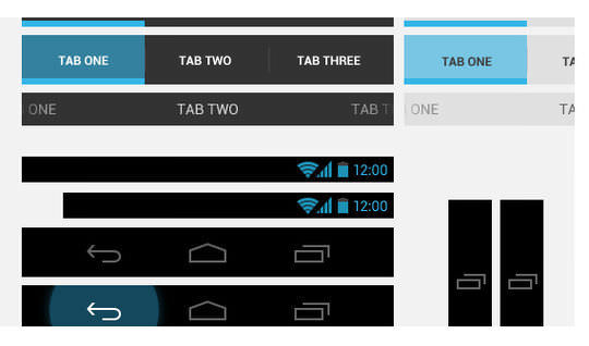 Official Android 4.0 UI