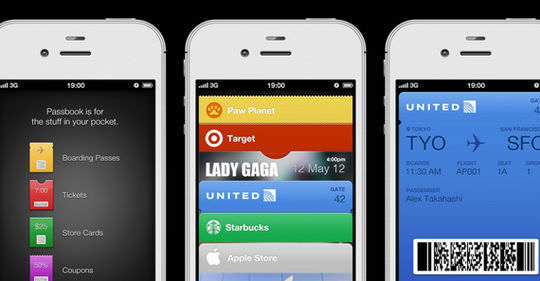 Passbook UI PSD from iOS6
