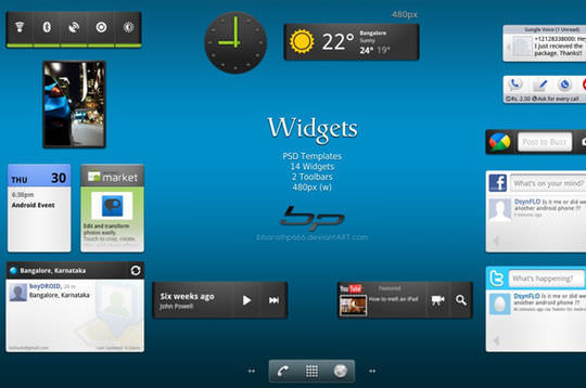Android:Widget