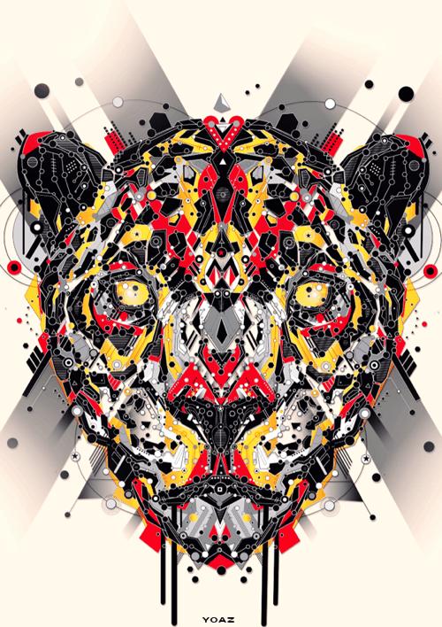 High tech animal 01