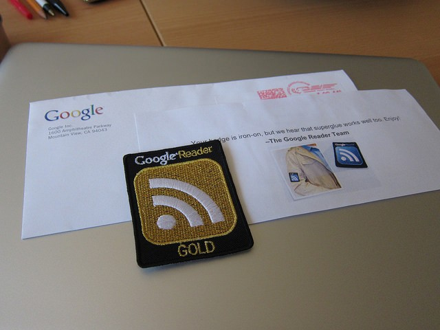 Google Reader Badge