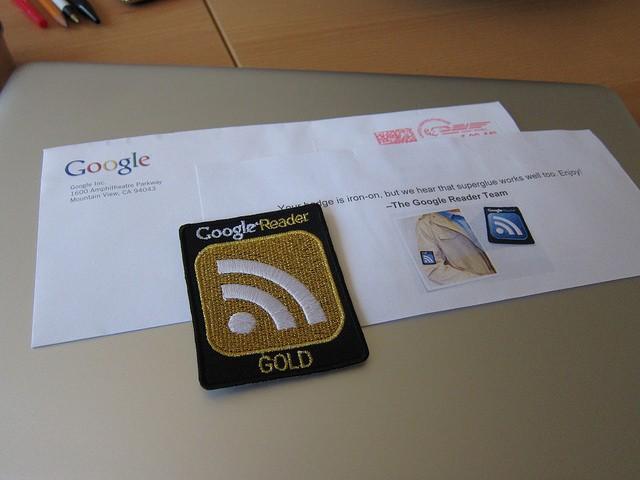 Google Reader Badge