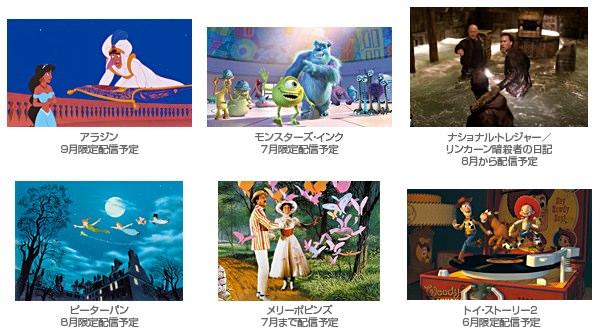 Disneyマーケット限定無料動画