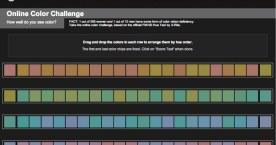 色相順に色を並び替えるゲーム感覚の色覚テスト「Color Test」