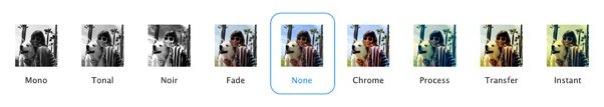 iOS 7 カメラ フィルタ機能