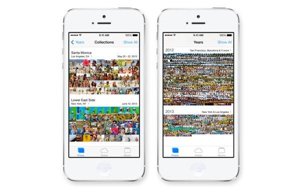 iOS 7 写真アプリ