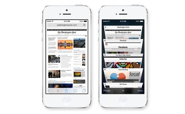iOS7 Safari