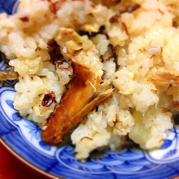 鯖と大根の炊き込みご飯