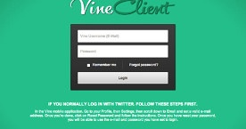 「Vine」に凝った動画を投稿できるChrome用クライアント「VineClient」