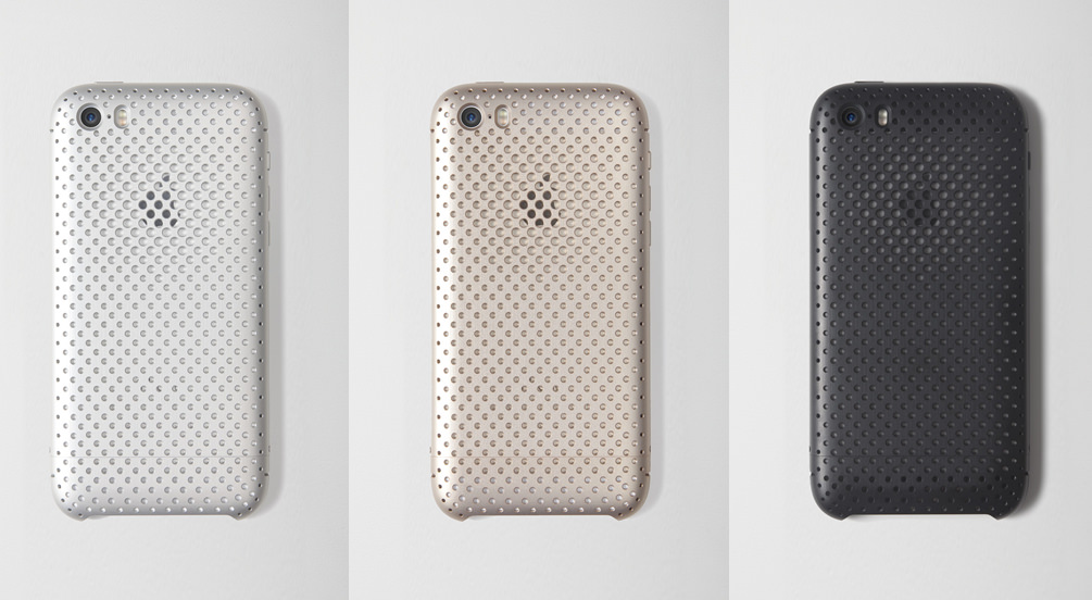 SQUAIR Duralmin Mesh Case for iPhone 5s/5
