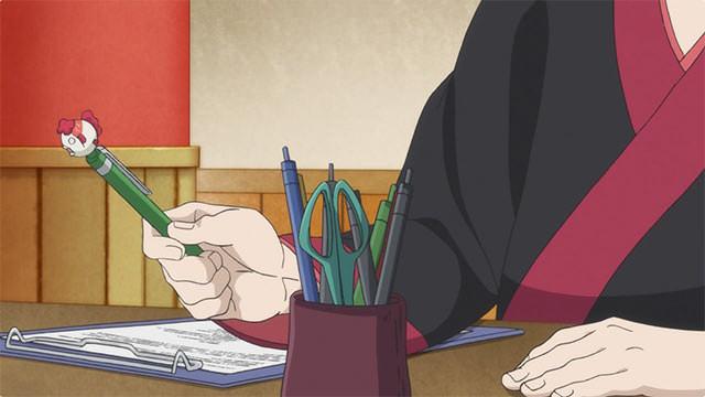 金魚草ボールペン