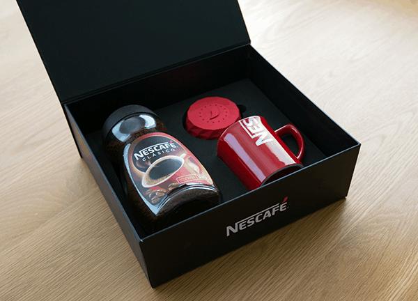 NESCAFE Alarm Capキャンペーンボックス