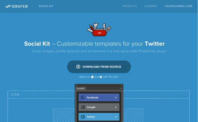 これはめちゃ便利 facebookやtwitterなどの最新デザインテンプレートを