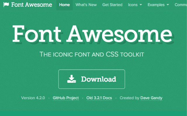 Font awesome 4.2.0
