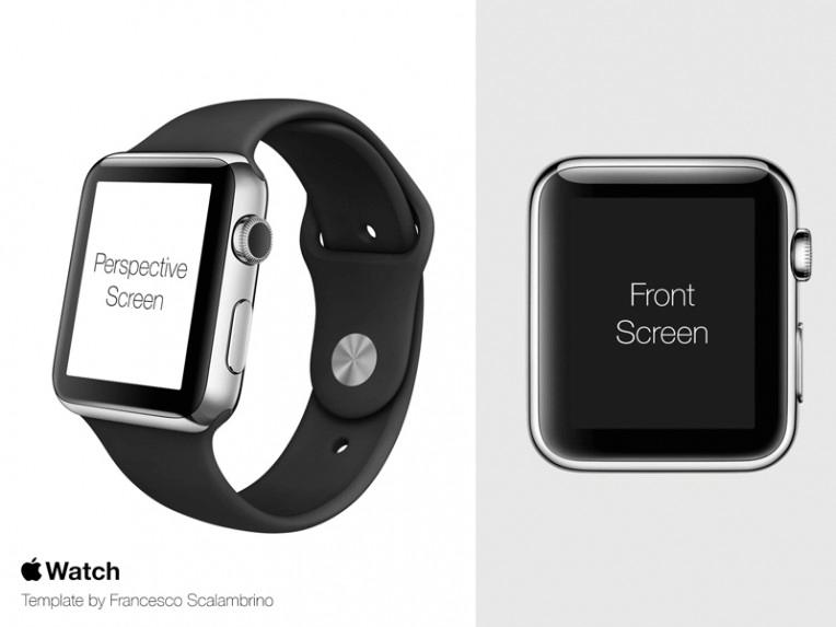 Apple Watch Free PSD