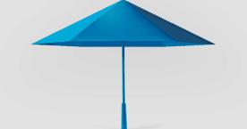 骨がないから壊れないし軽い! 折りたたみ傘ならぬ折り紙傘「Sa」がイイ感じ
