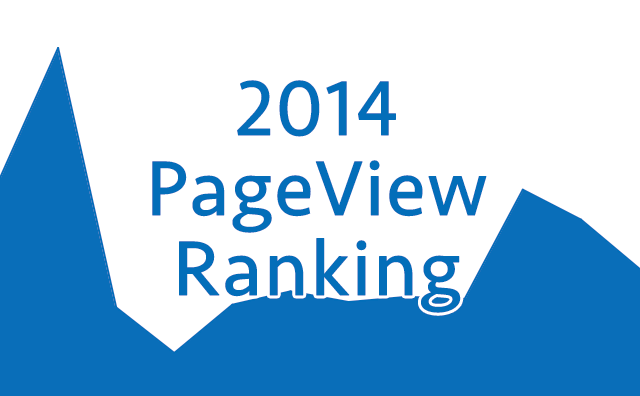 2014 PageView Ranking