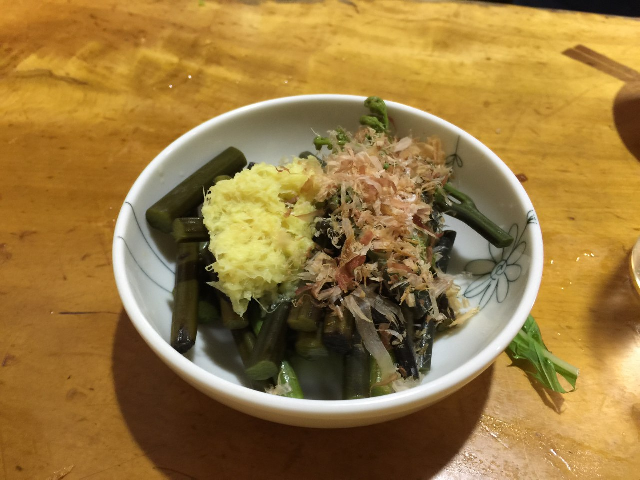 山菜の煮浸し