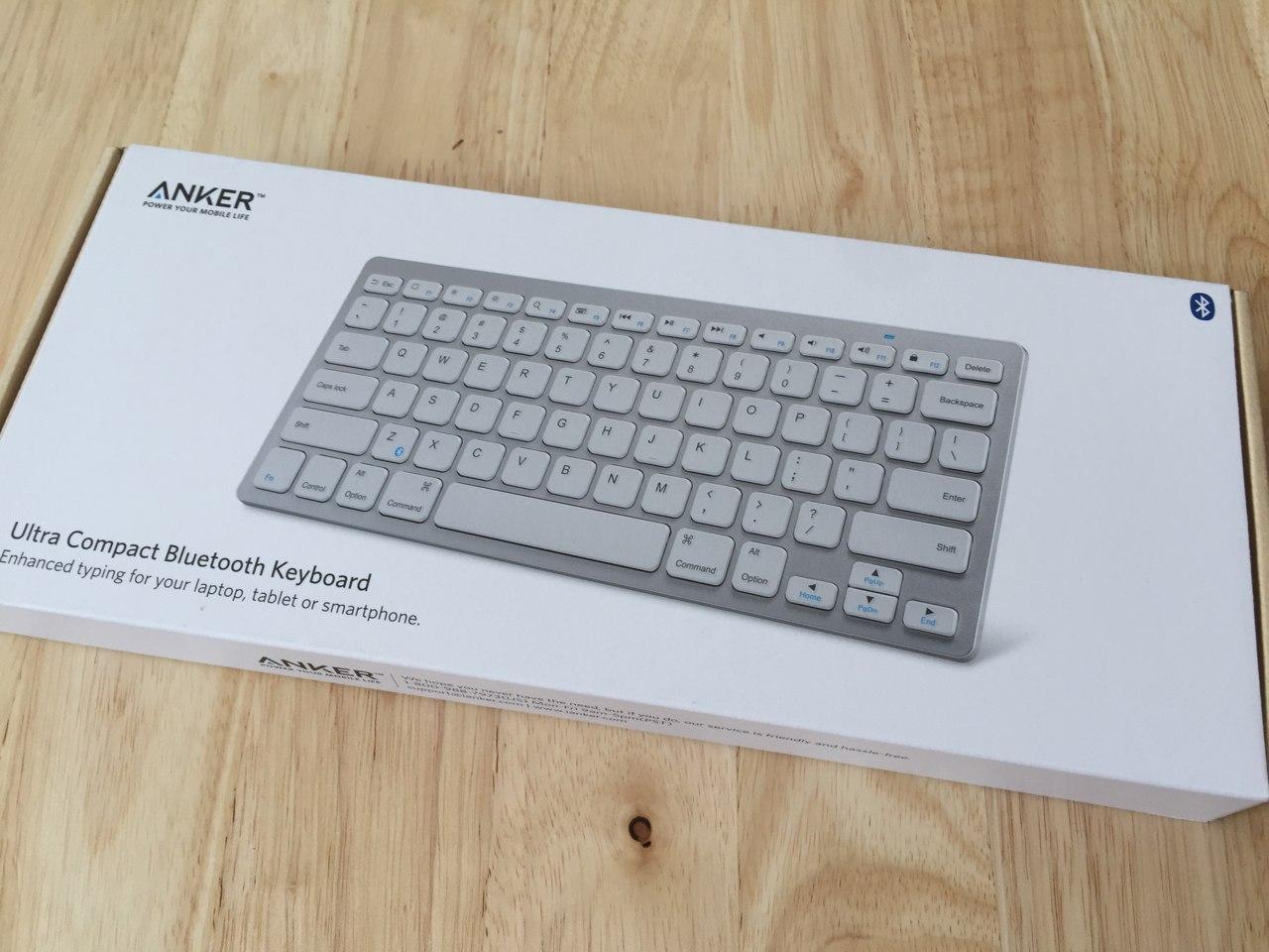 Anker keyboard