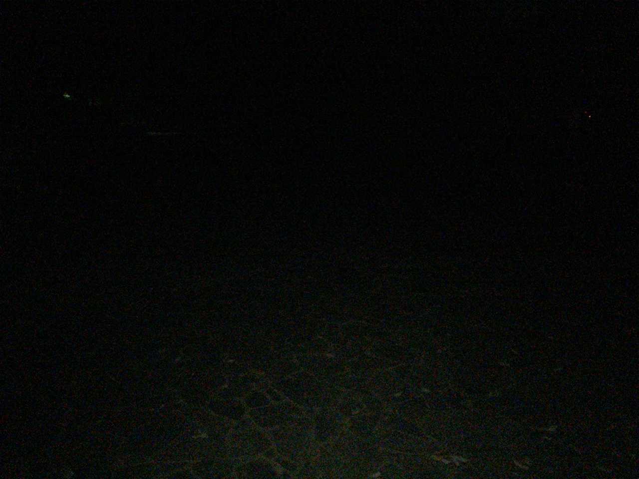 瀬音の湯 24時頃の本館前
