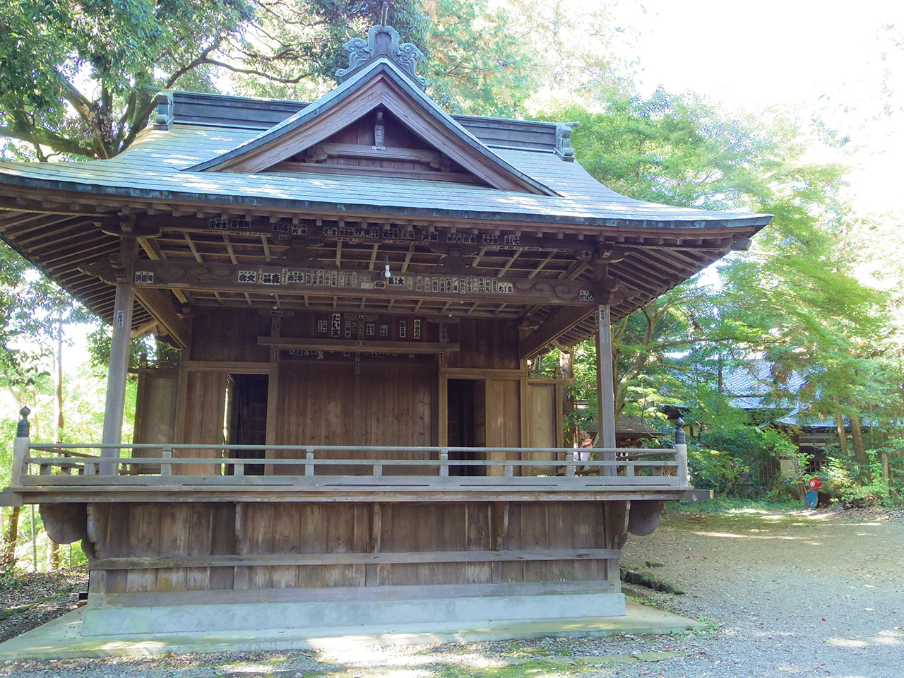 阿伎留神社 神楽殿