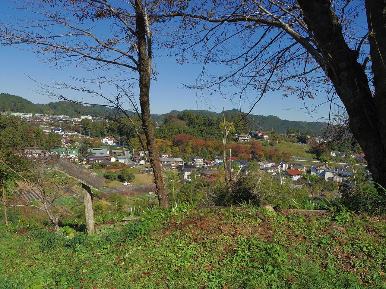 広徳寺そばから望む風景