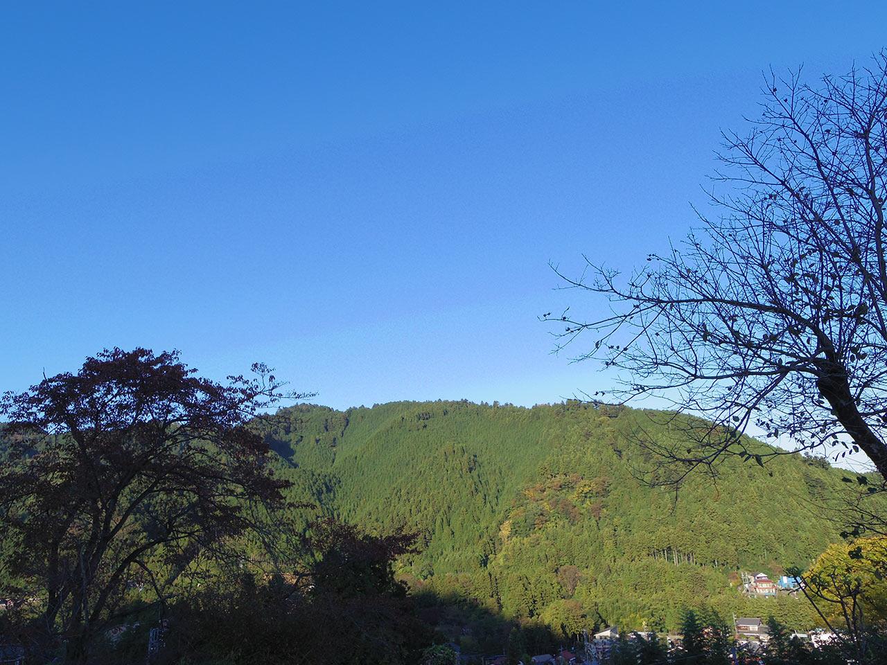光厳寺から望む風景