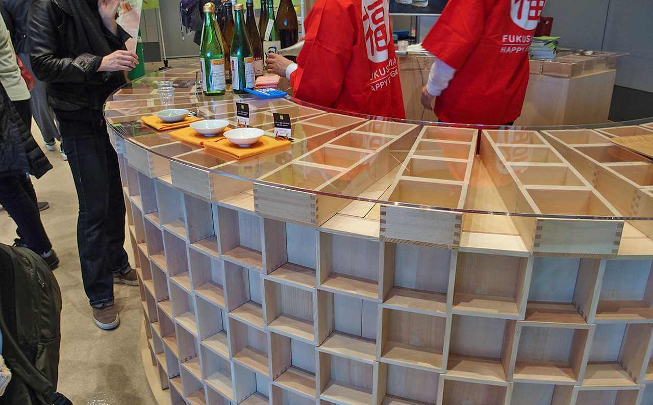 福島産日本酒利酒