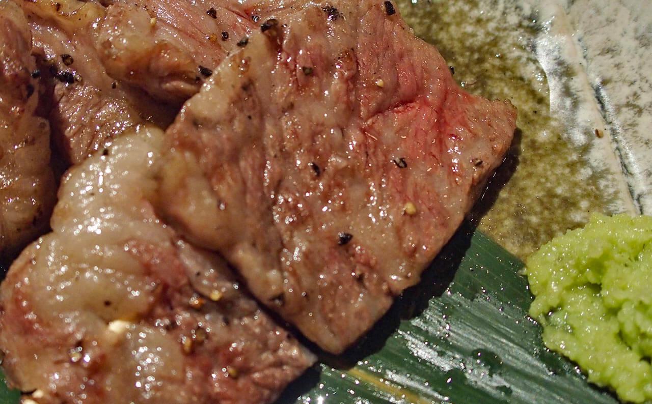 鹿児島黒豚焼き