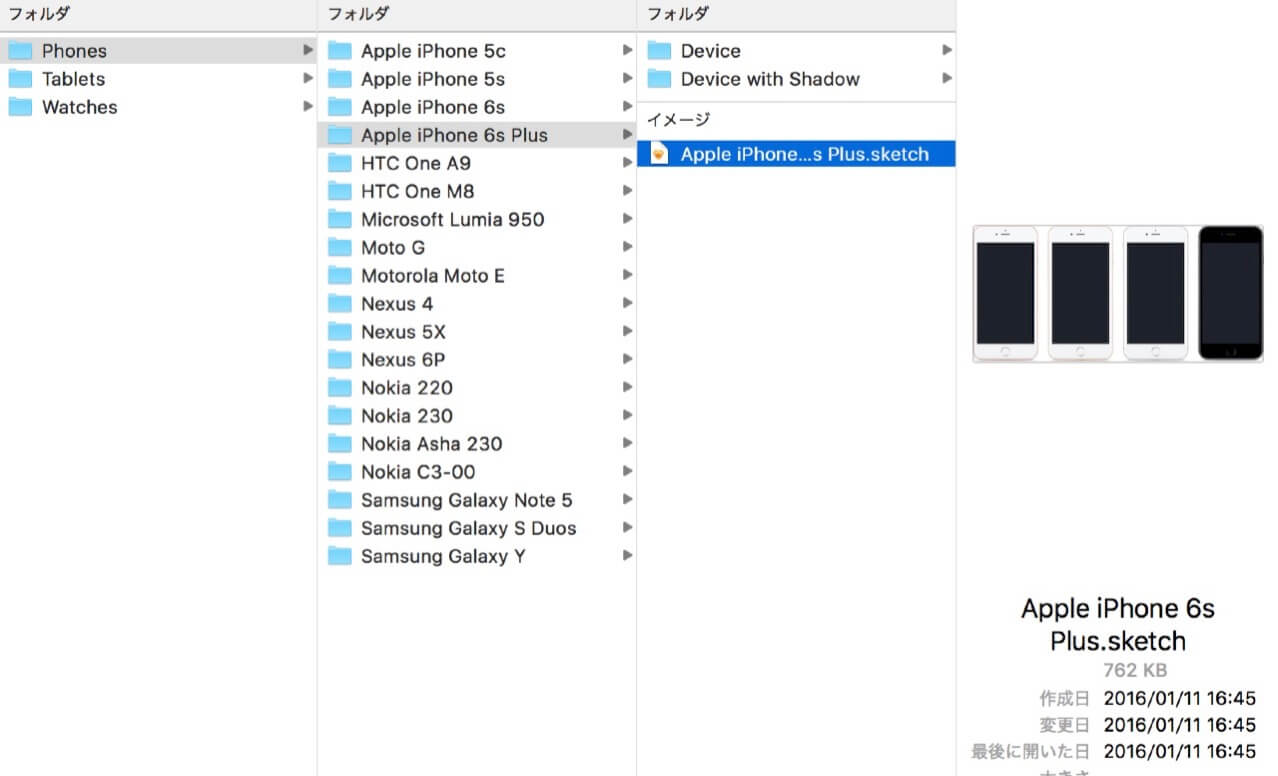 Devices file