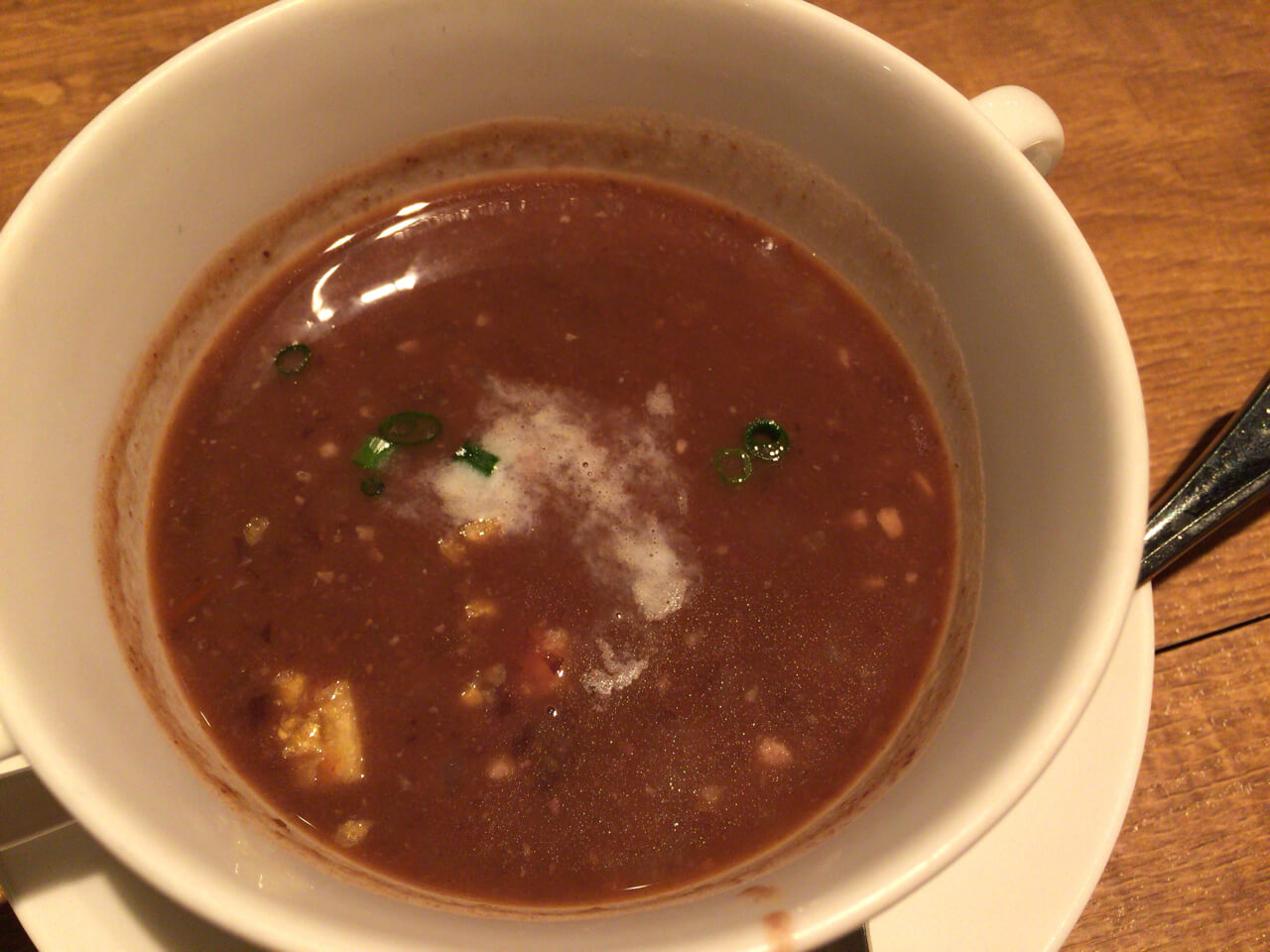 黒豆のスープ