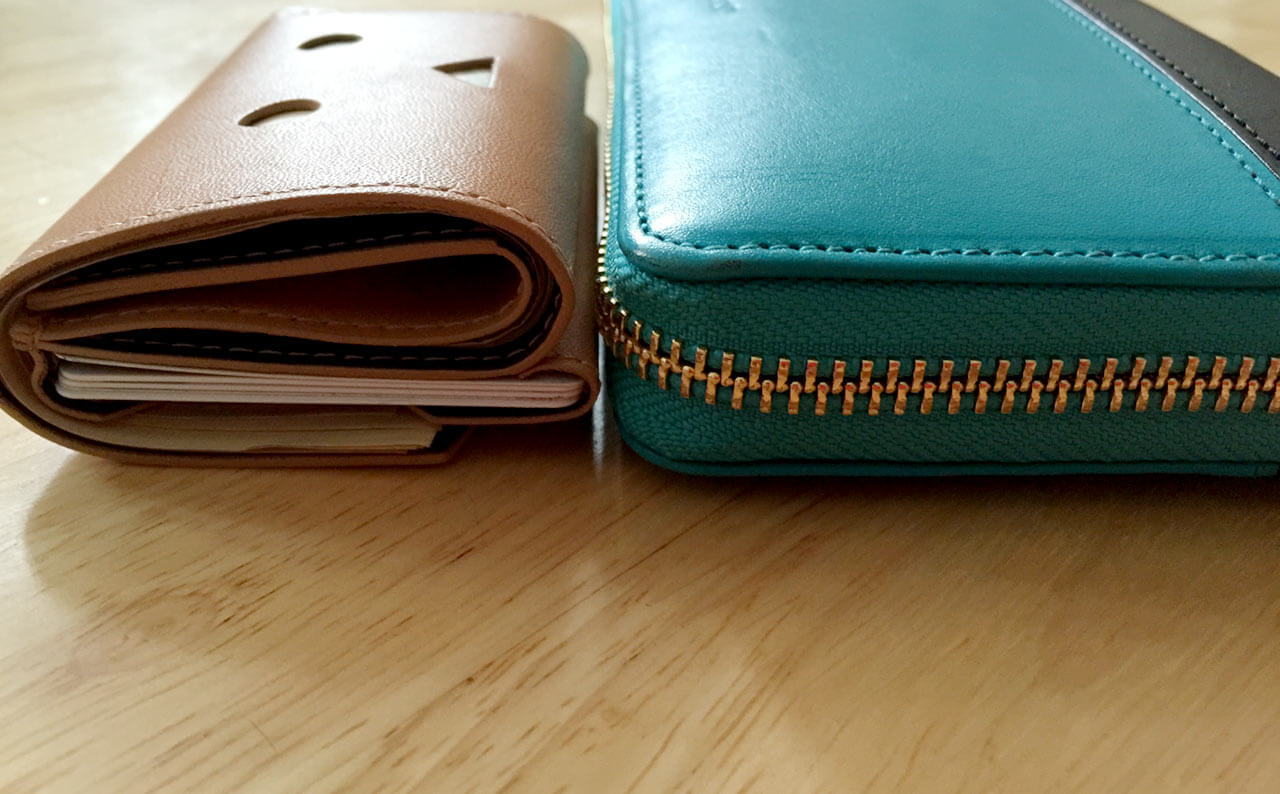 小さい財布の厚み