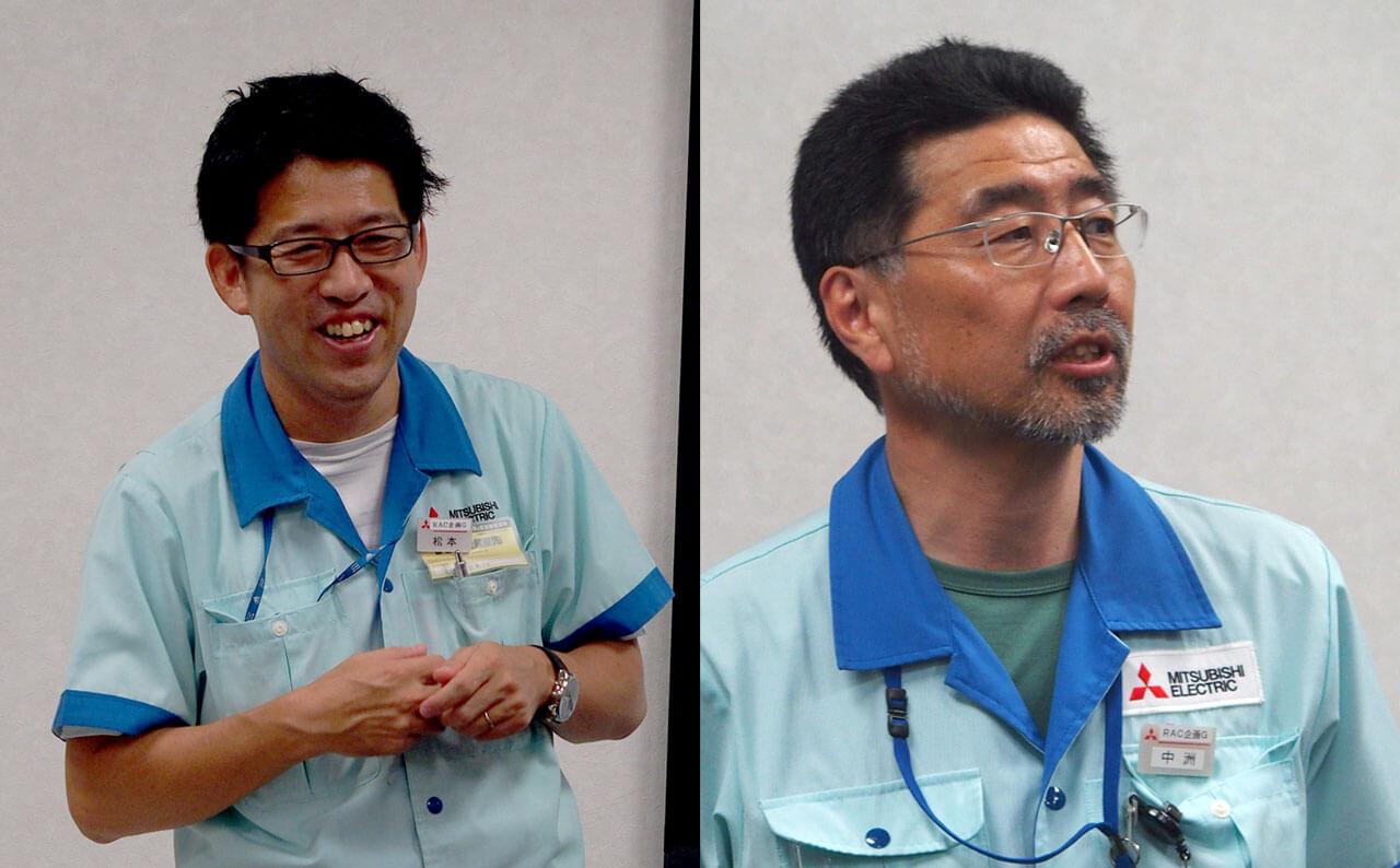 松本氏と中洲氏