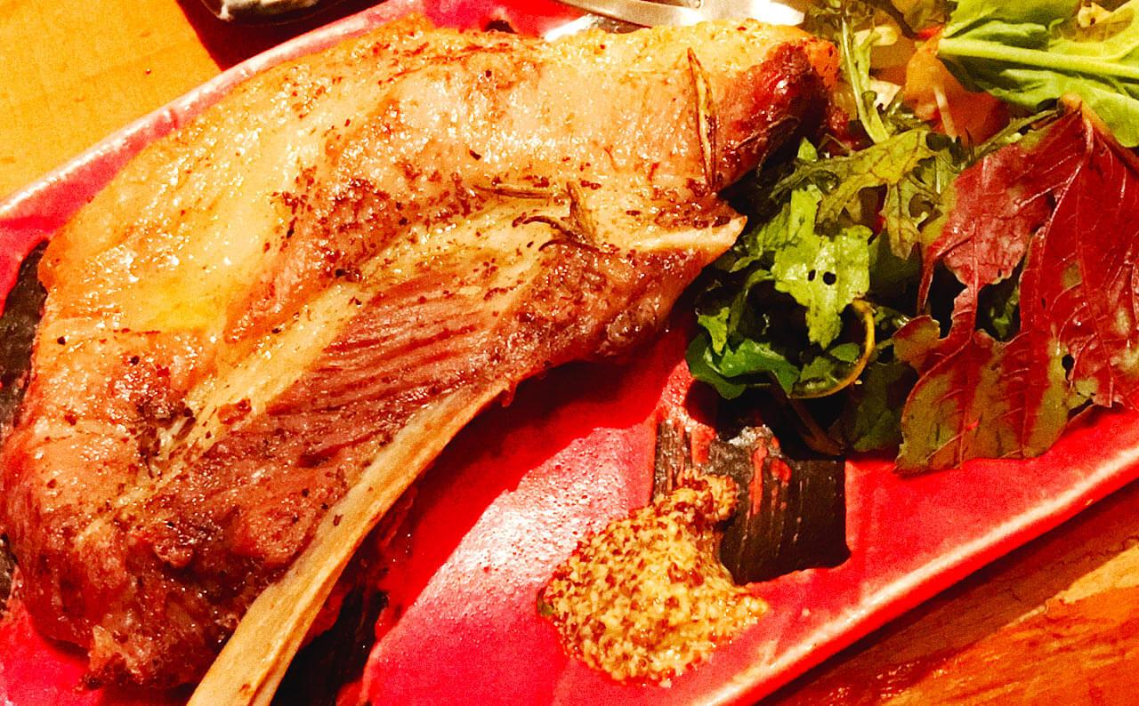 円山町 巖 | 岩中豚スペアリブのコンフィ