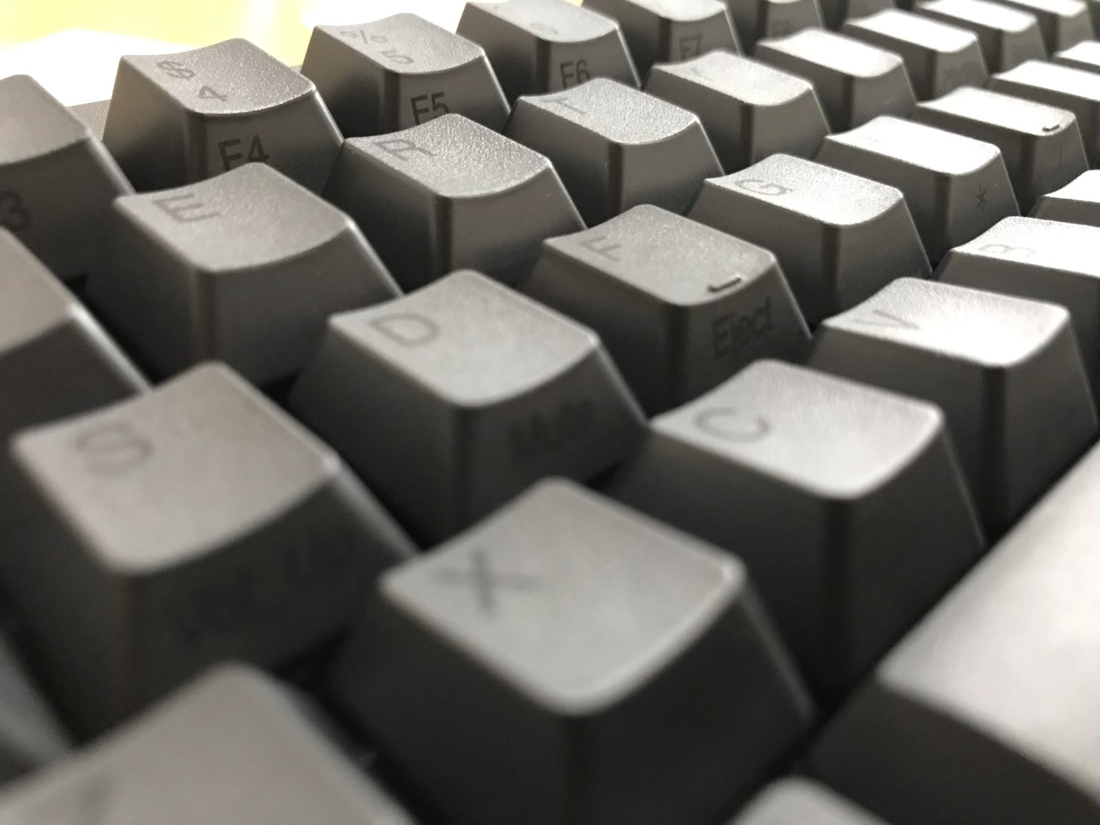 静電容量無接点方式とType-Sキー構造が採用されたキーボード