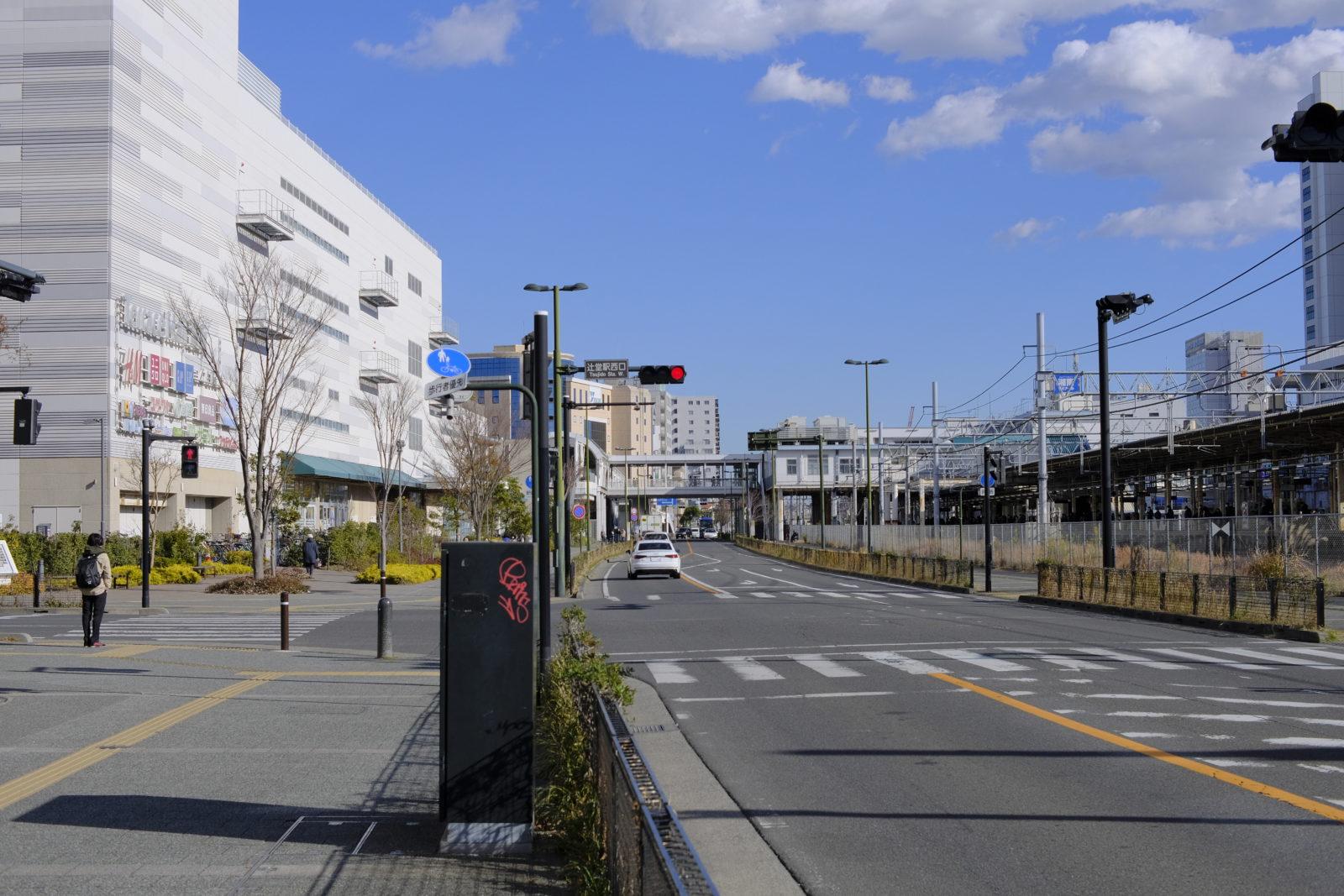 辻堂駅西口信号