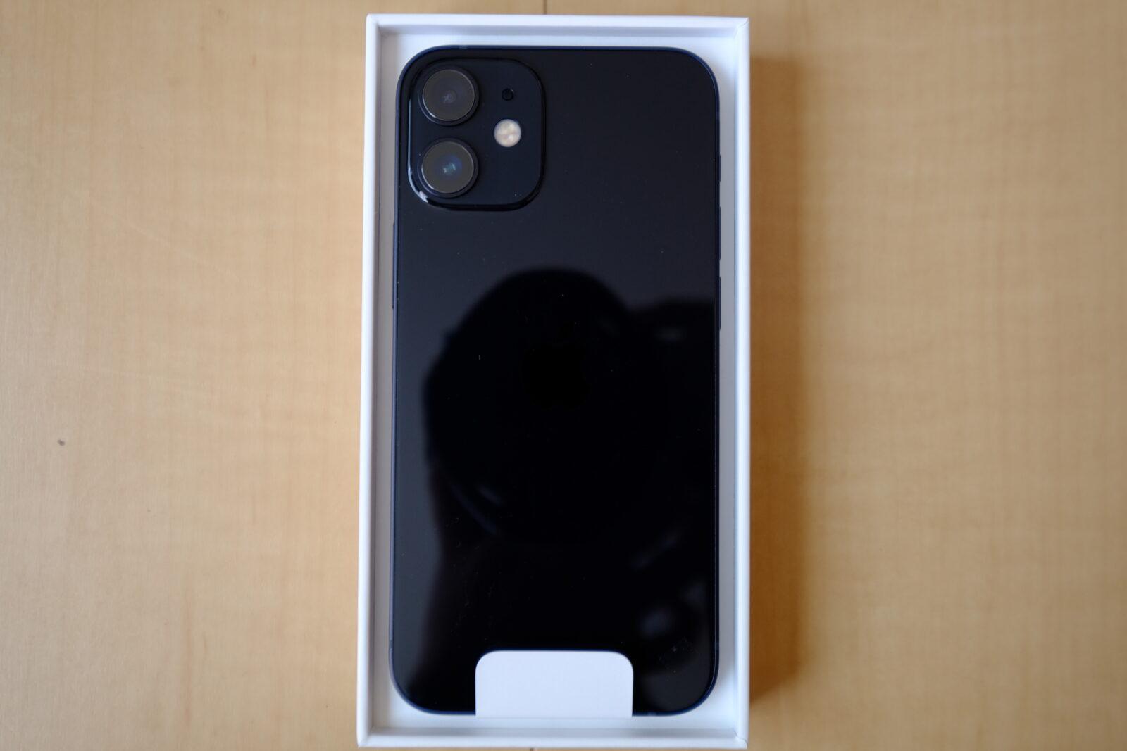 iPhone 12 mini (ブラック)
