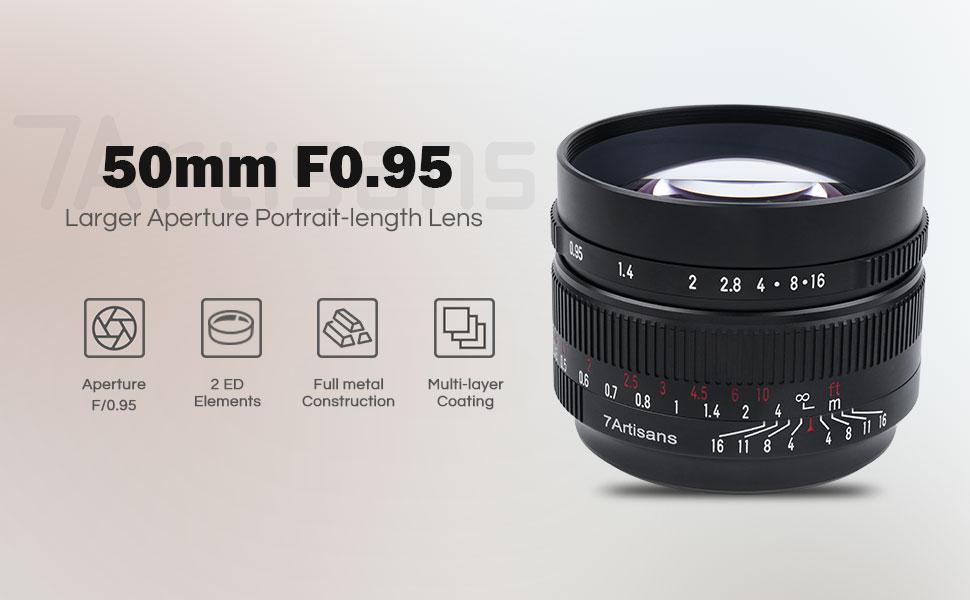 7Artisans 50mm F0.95