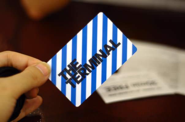 THE TERMINAL 会員カード